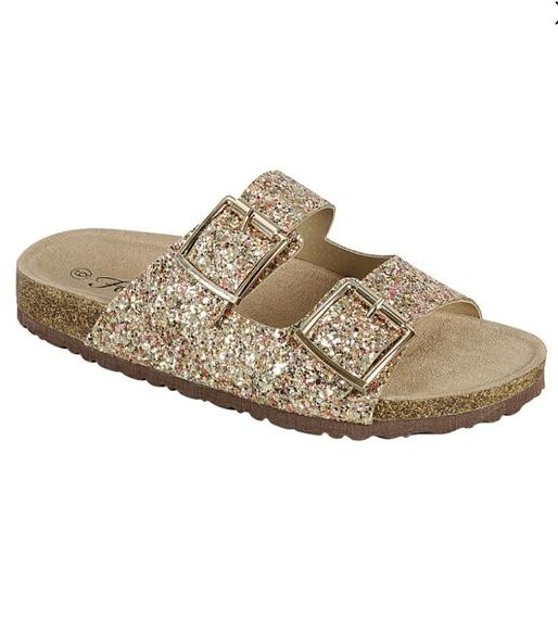 f9f5aa6b9d4e Shoes   Birkenstock Inspired Gold Glitter Sandals   Poshmark